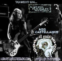 MEG CASTELLANOS ON KYUSS WORLD RADIO #53